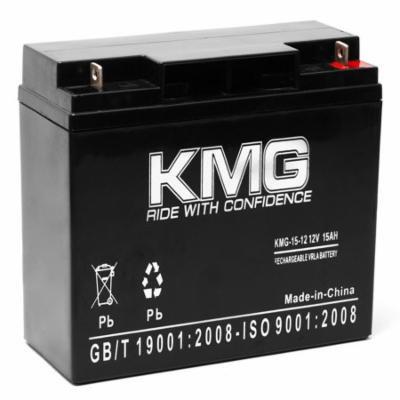 KMG 12V 15Ah Replacement Battery for Light Alarms 8700018 CE15CB CE15CK OSG12E3
