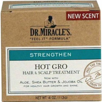 Dr. Miracles Strengthen Hot Hair & Scalp Treatment 4oz (6 Pack)