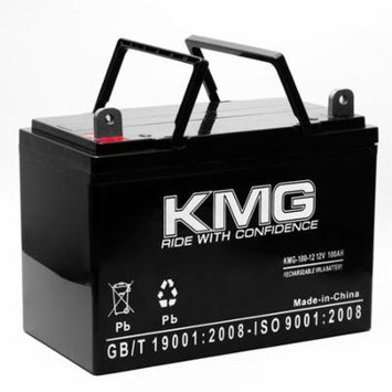 KMG 12V 100Ah Replacement Battery for Power Battery MC100 WCG27