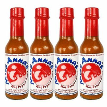 Miss Anna's Hot Pepper Sauce - 4 PACK