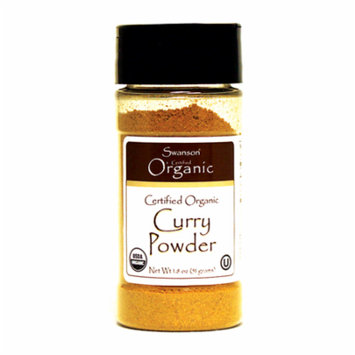 Swanson Certified Organic Curry Powder 1.8 oz (51 g) Pwdr