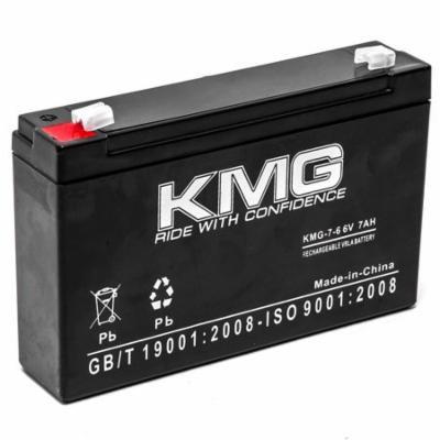 KMG 6V 7Ah Replacement Battery for Elsar 124 16216 16218 23054 2316 410