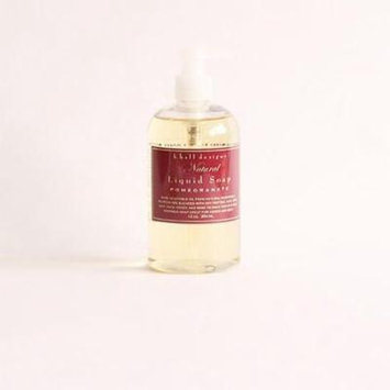 K Hall Designs Liquid Hand Soap 12 Oz. - Pomegranate