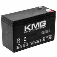 KMG 12V 7Ah Replacement Battery for Clary Corporation UPS125K1G UPS1400VA1GSL
