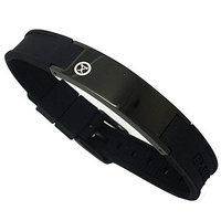 ProExl Best Magnetic ion Bracelet Carbon Dark Black and Deluxe Gift Box