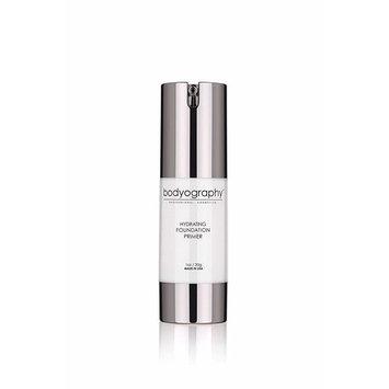 Bodyography Foundation Primer (Hydrating): Moisturizing Anti-Aging Salon Makeup Primer with Vitamin E, A, Jojoba, Grapeseed Oil | Control Shine | Gluten-Free, Cruelty-Free