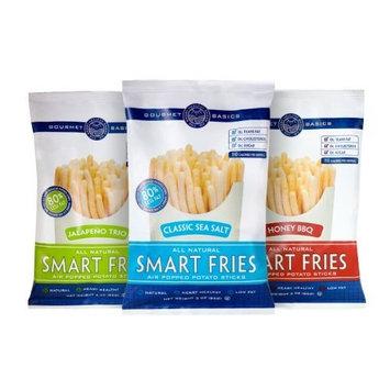 Gourmet Basics Smart Fries 3-Flavor Variety Pak, 3-Ounce Bags (Pack of 12)