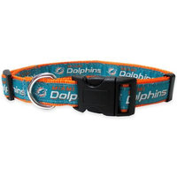 Pets First NFL Miami Dolphins Collar, Small