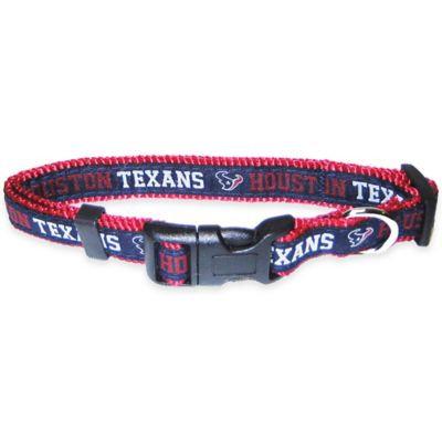 Pets First NFL Houston Texans Pet Collar, Large