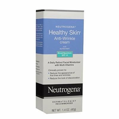 2 Pack - Neutrogena Healthy Skin SPF 15 Anti-Wrinkle Cream 1.4oz Each