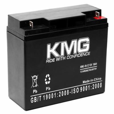 KMG 12V 18Ah Replacement Battery for Merits Merits P32012 Junior S235 S2351