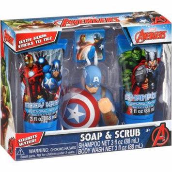 Marvel Avengers Soap & Scrub Gift Set, 4 pc