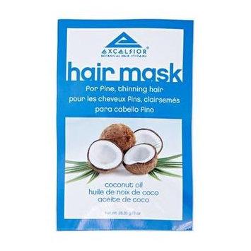 Excelsior Coconut Oil Hair Mask Packette .10 oz. (Pack of 4)