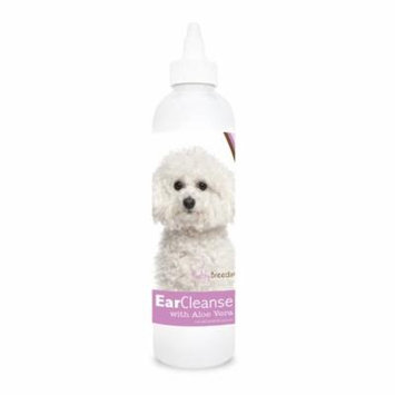 Healthy Breeds Dog Ear Cleanse with Aloe Vera for Bichon Frise, Sweat Pea and Vanilla 8 oz