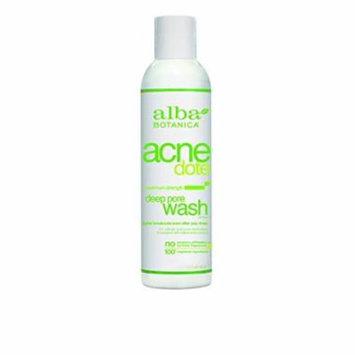 6 Pack - Alba Botanica Acnedote Deep Pore Wash 6oz Each