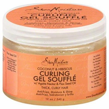 SheaMoisture Coconut & Hibiscus Curling Gel Souffle - 12 oz