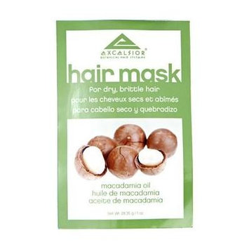 Excelsior Macadamia Oil Hair Mask Packette .10 oz. (Pack of 3)