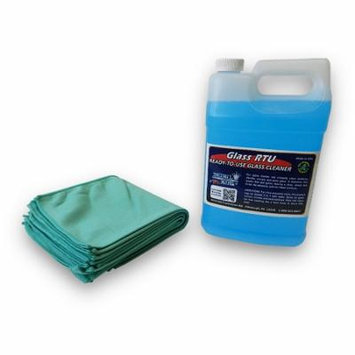 Ready To Use Glass Cleaner and Window Towel Package