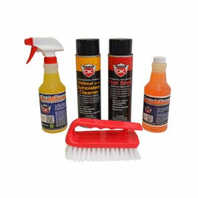 Detail King Carpet and Upholstery Stain Remover Car Care Value Kit