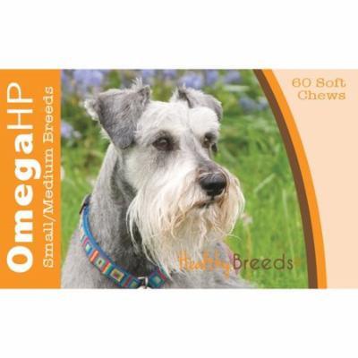 Healthy Breeds Miniature Schnauzer Omega HP Fatty Acid Skin and Coat Support Soft Chews