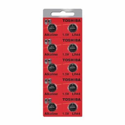 Toshiba LR44 AG13 Alkaline 1.5 Volt Batteries (100 Batteries Total)