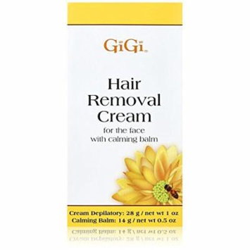 Gigi Hair Removal Cream for The Face 1 oz. (Pack of 4)