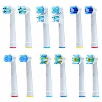 Image Oral B Replacement Brush Heads Toothbrush Heads Set