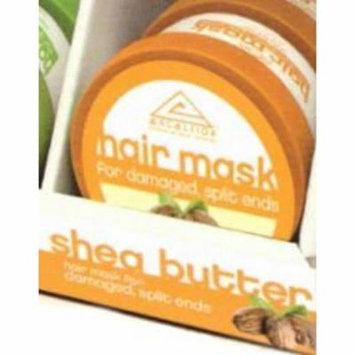 Excelsior Shea Butter Hair Mask Jar 6 oz. (Pack of 4)