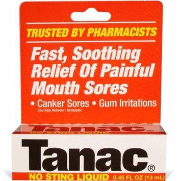 3 Pack - Tanac No Sting Liquid 0.45oz Each