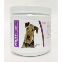 Healthy Breeds Dog Multi-Vitamin Soft Chew for Airedale Terrier, Daily Vitamin and Mineral Supplement, 60 Count
