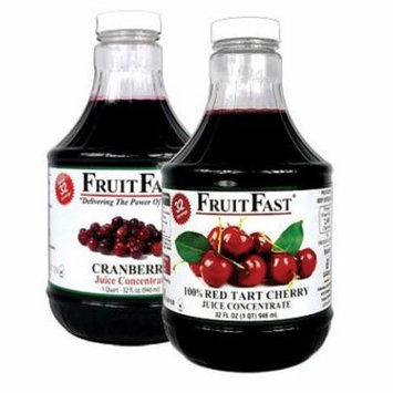1 QUART Tart Cherry & 1 QUART Cranberry