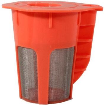 Keurig 2.0 Refillable K-Carafe Reusable Coffee Filter Replacement Orange Pack