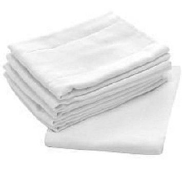 Central Better Wear Birdseyes Flat 100-percent Cotton 27-inch x 27-inch Cloth Diapers (Pack of 3)