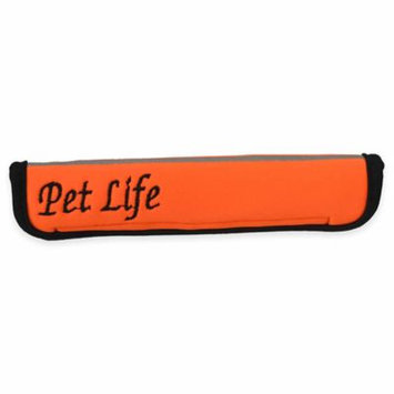 Pet Lift Pet Life Extreme-Neoprene Joint Protective Reflective Pet Sleeves - Orange - Large
