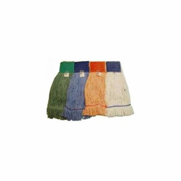 Wet Mop Medium 4Ply Cotton/Rayon Looped End White-1 Each