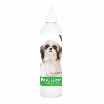 Healthy Breeds Dog Ear Cleanse with Aloe Vera for Shih Tzu, Cucumber Melon Scent 8 oz