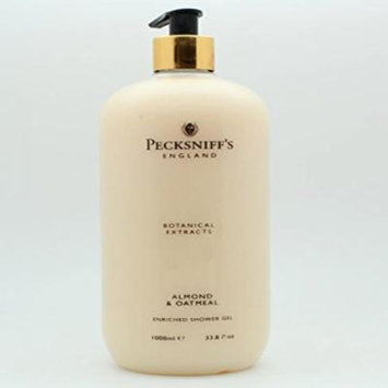Pecksniff's Botanical Extracts Vitamin Enriched Shower Gel - Almond & Oatmeal 33.8 Fl Oz