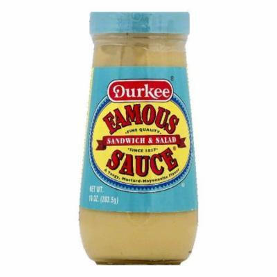 Durkee Sandwich & Salad Famous Sauce, 10 OZ (Pack of 6)
