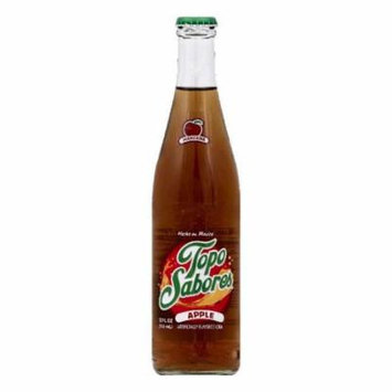 Topo Sabores Apple Soda, 12 OZ (Pack of 24)