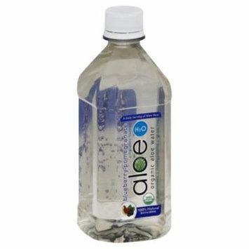 Aloe H2O Blueberry-Pomegranate Organic Aloe Water, 16.9 Oz (Pack of 12)