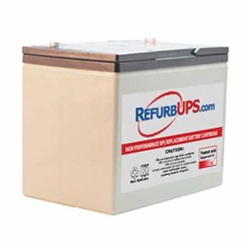 Panasonic LC-R12V75P - Brand New Compatible Replacement Battery