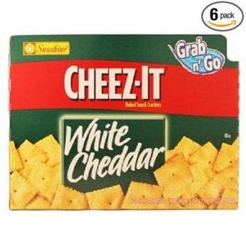 36 PACKS : CHEEZ-IT GRAB N GO WHITE CHEDDAR CRACKERS 3 oz Each