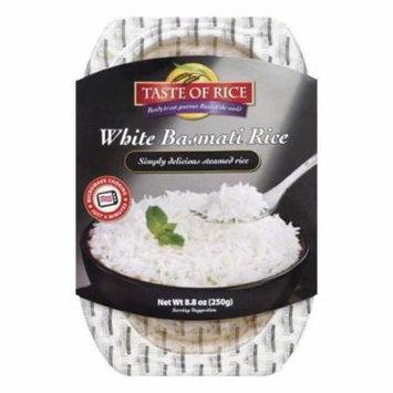 Taste of Rice White Basmati Rice, 8.8 OZ (Pack of 6)