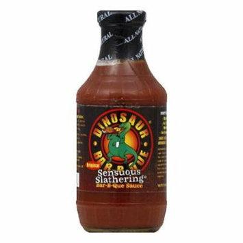 Dinosaur Slathering Sensuous BBQ Sauce, 19 OZ (Pack of 6)