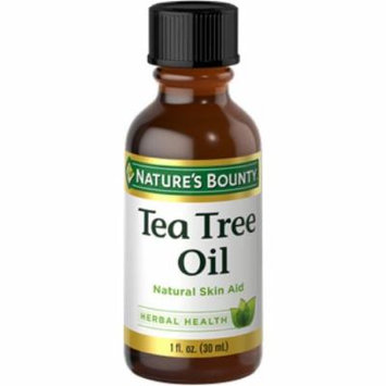 3 Pack - Nature's Bounty Natural Tea Tree Oil, 1 Oz Each