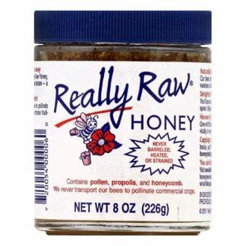 Really Raw Honey, 8 OZ (Pack of 12)
