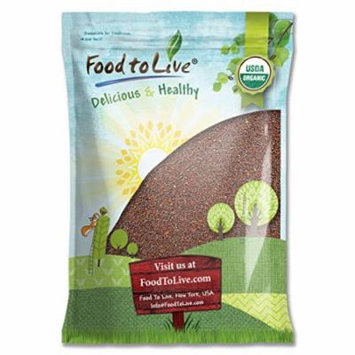 Food To Live Organic Broccoli Seeds for Sprouting (8 Pounds)