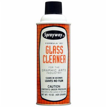 Sprayway 040 Graphic Arts Glass Cleaner 15 oz