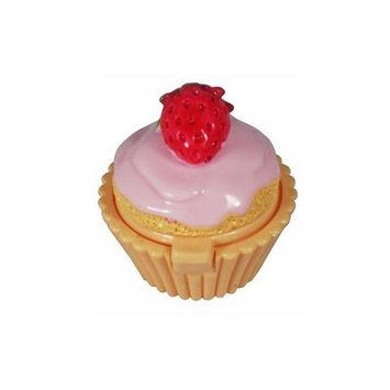 Lip Gloss Naughty but Nice Strawberry Cream in Cupcake Shaped Container
