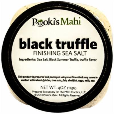 Pooki's Mahi Black Truffle Salt, 4 Ounce